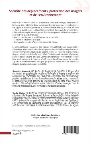 4eme Sécurité des déplacements, protection des usagers et de l'environnement