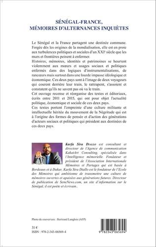 4eme Sénégal - France, mémoires d'alternances inquiètes