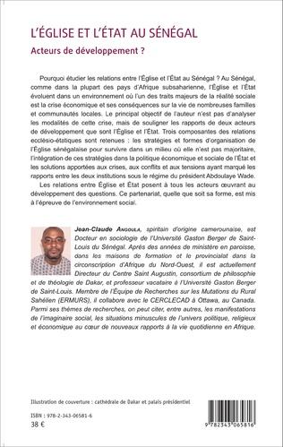 4eme L'Église et l'État au Sénégal