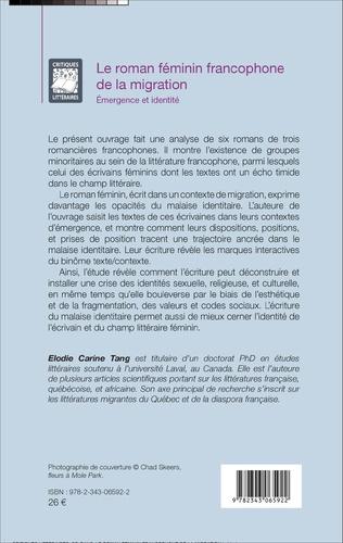 4eme Le roman féminin francophone de la migration