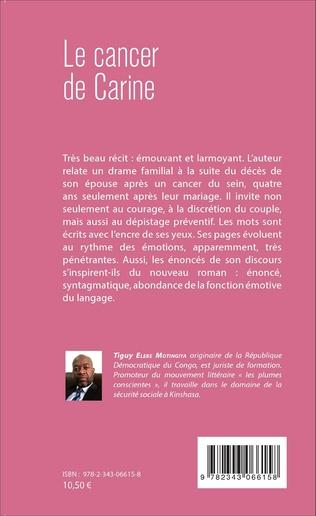 4eme Le cancer de Carine. Témoignage posthume