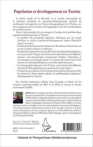 4eme Population et développement en Tunisie
