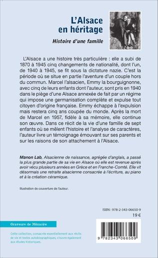 4eme L'Alsace en héritage
