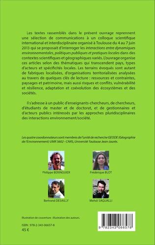 4eme Environnement, politiques publiques et pratiques locales