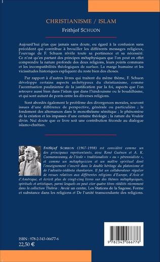 4eme Christianisme/Islam