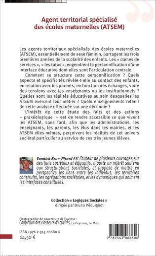 4eme Agent territorial spécialisé des écoles maternelles (ATSEM)