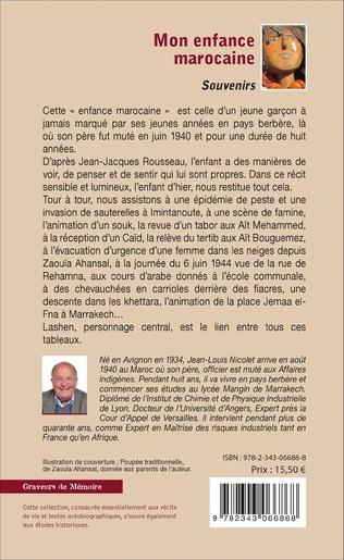 4eme Mon enfance marocaine