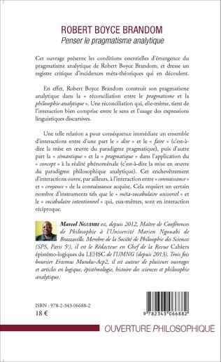 4eme Robert Boyce Brandom