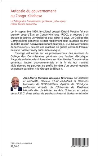4eme Autopsie du gouvernement au Congo-Kinshasa