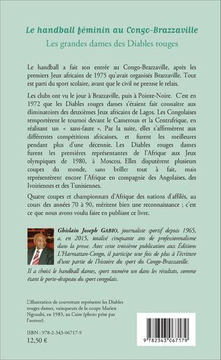 4eme Le handball féminin au Congo-Brazzaville