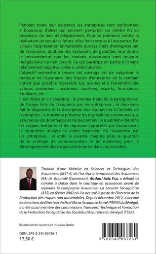 4eme L'assurance des risques d'entreprise dans les pays de la CIMA