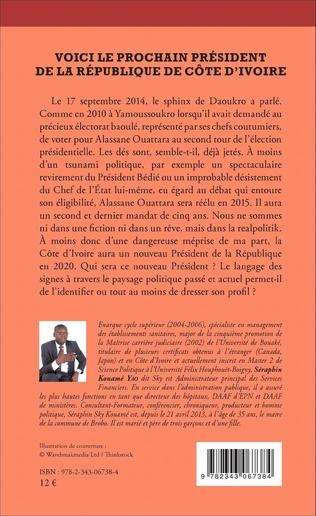 4eme Voici le prochain président  de la République de Côte d'Ivoire