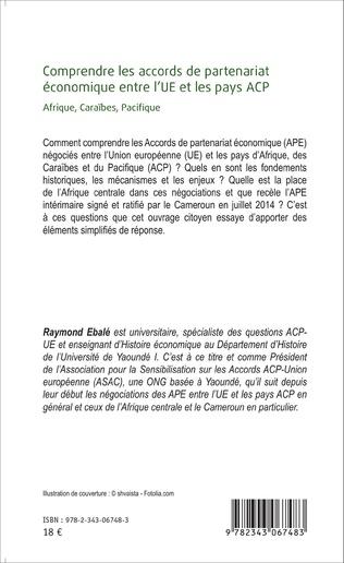 4eme Comprendre les accords de partenariat économique entre l'UE et les pays ACP