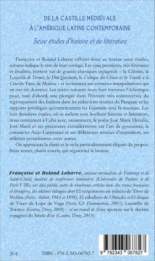 4eme De la Castille médiévale à l'Amérique latine contemporaine