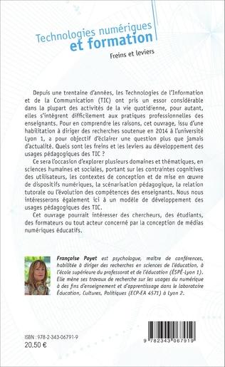 4eme Technologies numériques et formation