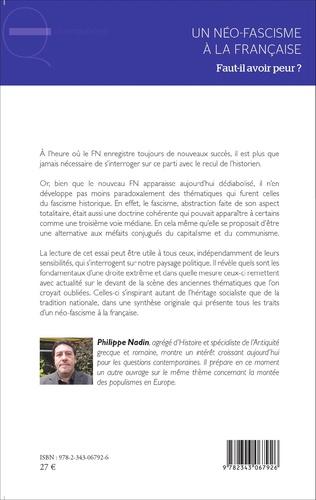4eme Un néo-fascisme à la française