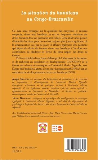 4eme La situation du handicap au Congo-Brazzaville