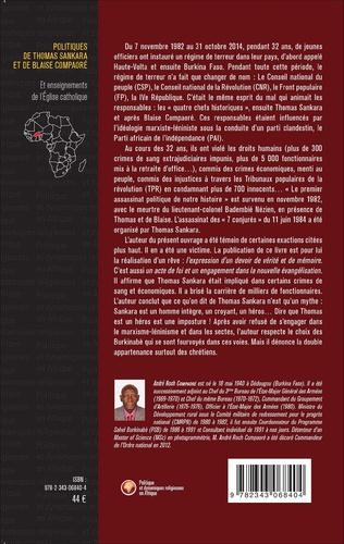 4eme Politiques de Thomas Sankara et de Blaise Compaoré