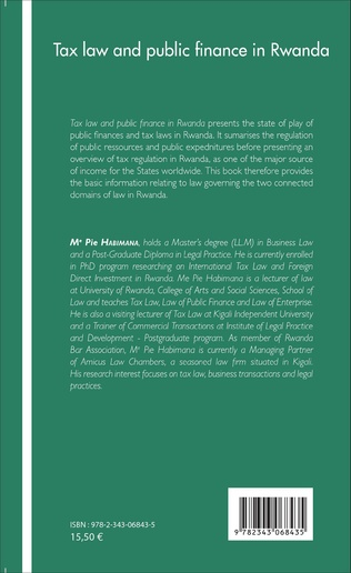 4eme Tax law and public finance in Rwanda