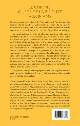 4eme Le Chiisme, quête de la fidélité aux imams