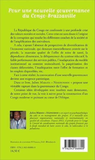 4eme Pour une nouvelle gouvernance du Congo-Brazzaville