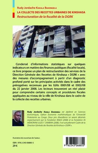 4eme La collecte des recettes urbaines de Kinshasa