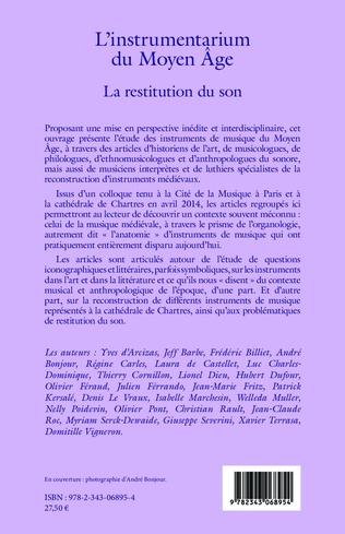 4eme L'instrumentarium du Moyen Âge