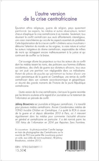 4eme L'autre version de la crise centrafricaine