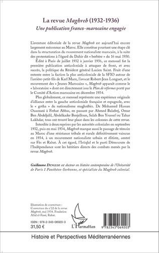 4eme La revue Maghreb (1932-1936)