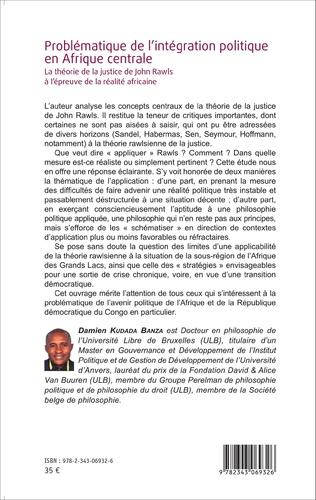 4eme Problématique de l'intégration politique en Afrique centrale