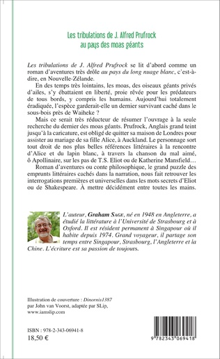 4eme Les tribulations de J.Alfred Prufrock au pays des moas géants