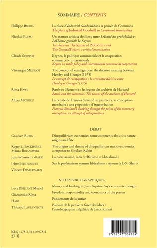 4eme Cahiers d'économie politique