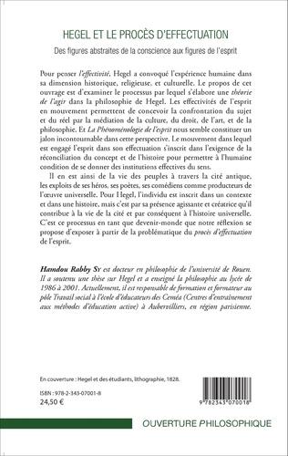 4eme Hegel et le procès d'effectuation