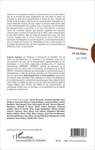 4eme Communication et sociétés en crise