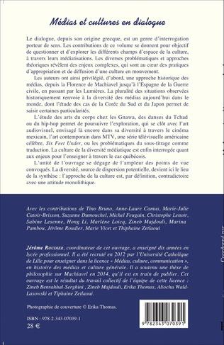4eme Médias et cultures en dialogue