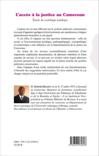 4eme L'accès à la justice au Cameroun