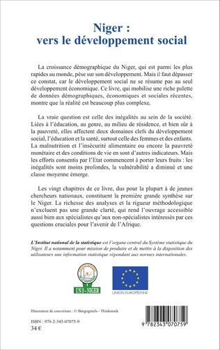 4eme Niger : vers le développement social
