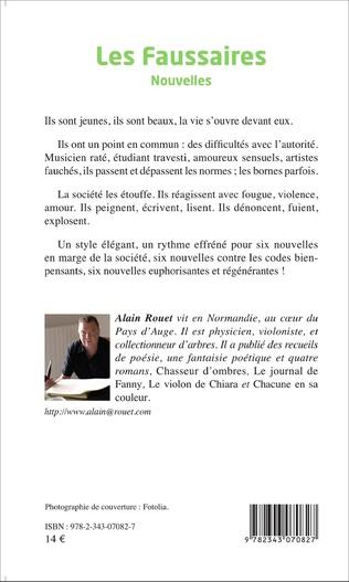 4eme Les Faussaires   Nouvelles