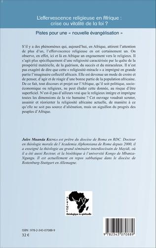 4eme L'effervescence religieuse en Afrique : crise ou vitalité de la foi ?
