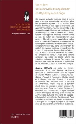 4eme Les enjeux de la nouvelle évangélisation en République du Congo