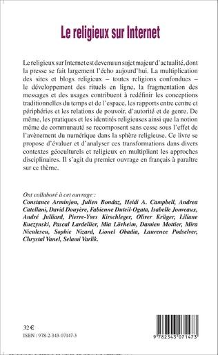 4eme Le religieux sur internet