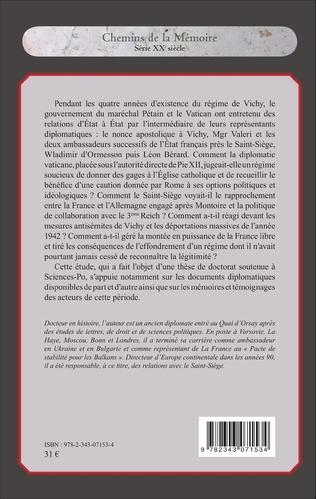 4eme Vichy et le Saint-Siège