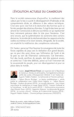 4eme L'évolution actuelle du Cameroun