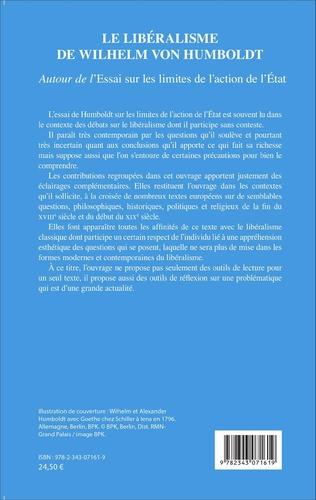 4eme Le libéralisme de Wilhelm Von Humboldt