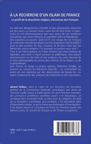 4eme A la recherche d'un islam de France