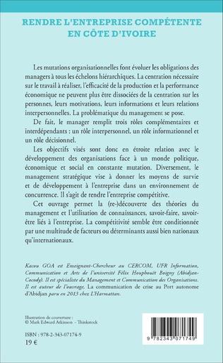 4eme Rendre l'entreprise compétente en Côte d'Ivoire