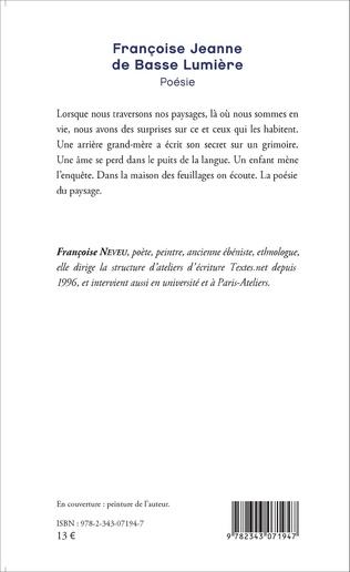 4eme Françoise Jeanne de Basse Lumière