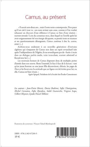 4eme Camus, au présent