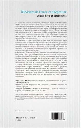 4eme Télévisions de France et d'Argentine
