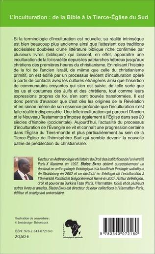 4eme L'inculturation : de la Bible à la Tierce-Église du Sud